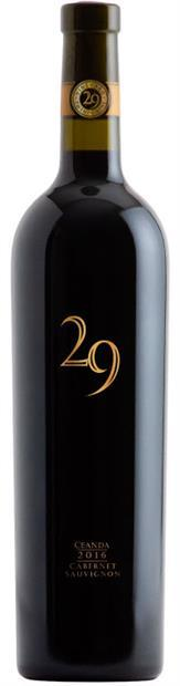 "Vineyard 29 ""Ceanda"" Cabernet Sauvignon 2016 750ml"