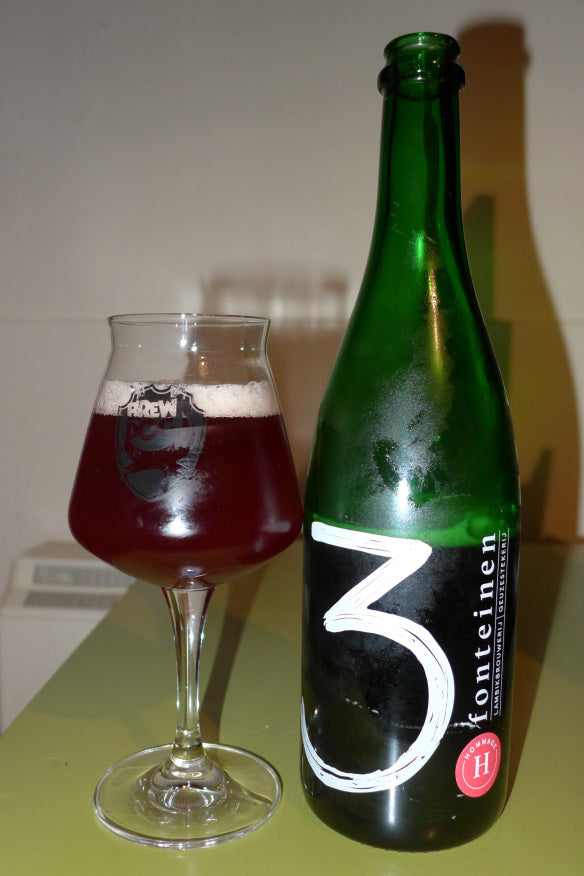 Drie Fonteinen Hommage Lambic Raspberry and Cherries 750ml