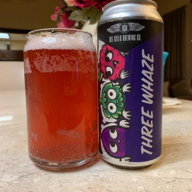 Del Cielo Brewing Three Whaze Boysenberry Passion Fruit Sour Single 16oz can