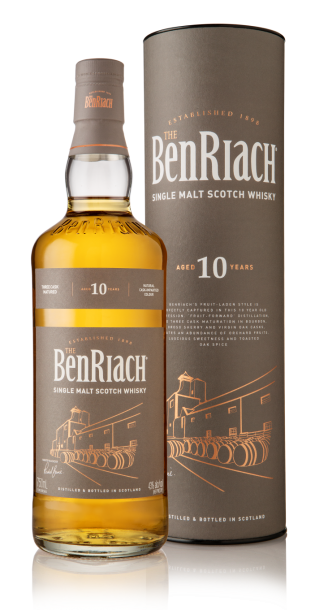 BenRiach 10 years Single Malt Scotch 750ml