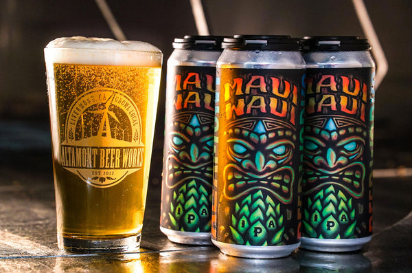 Altamont Brewing Maui Waui IPA 4pk 16oz Cans