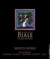 Robert Biale Monte Rosso Moon Mountain District Zinfandel 2012 750 ml