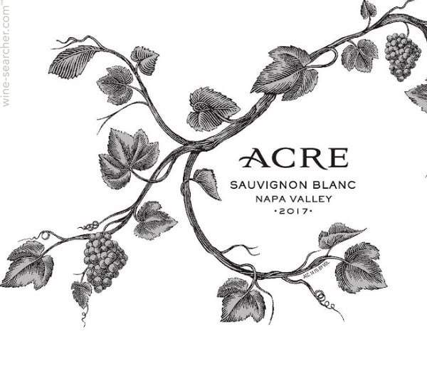 Acre Napa Valley Sauvignon Blanc 2017 750ml