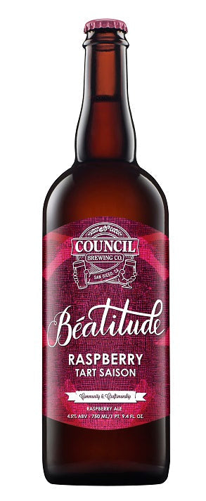 Council Beatitude Raspberry 750ml