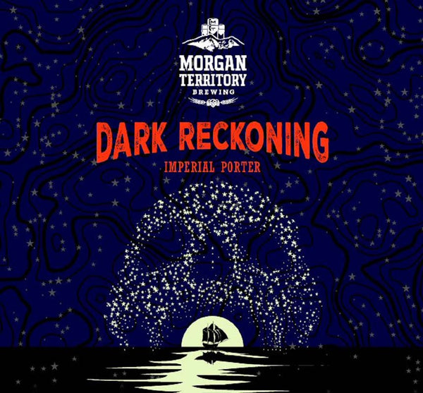 Morgan Territory Dark Reckoning Baltic Porter 4pk 16oz cans