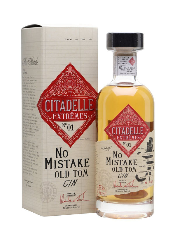 Citadelle Extremes No. 01 No Mistake Old Tom Gin 750ml