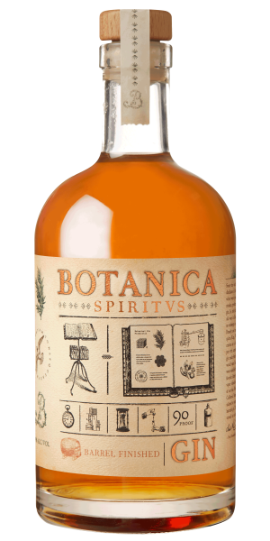 Botanica Gin Spiritvs Barrel Finished 750 Ml