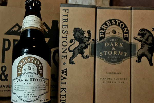 Firestone Walker Dark & Stormy Rum Barrel Aged Ale 12oz