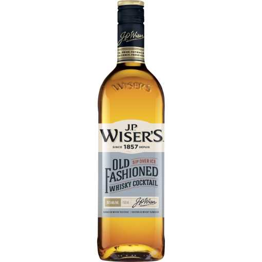 J.P. Wiser's Old Fashioned Whisky Cocktail 750ml