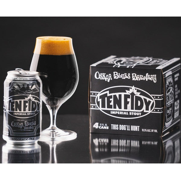 Oskar Blues Ten Fidy Barrel Aged Imperial Stout 4pk 12oz cans