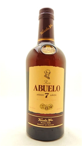 Ron Abuelo 7 Year Anejo Rum 750ml