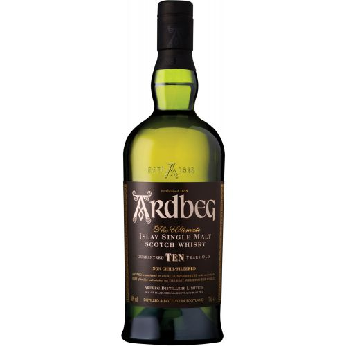 Ardbeg 10 Years Islay Single Malt Scotch Whisky 750ml