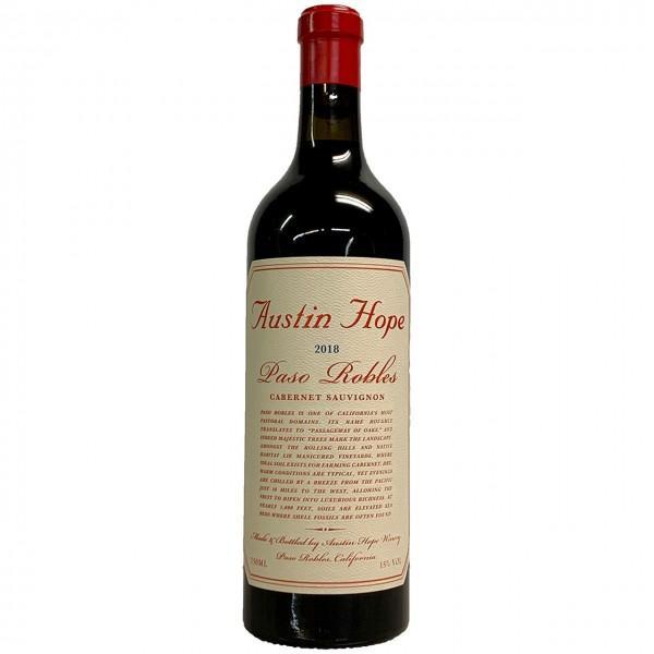 Austin Hope Paso Robles Cabenet 2018 750ml
