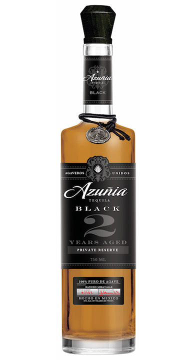Azunia 2 Year Black Extra-Aged Private Reserve Anejo Tequila 750 ML