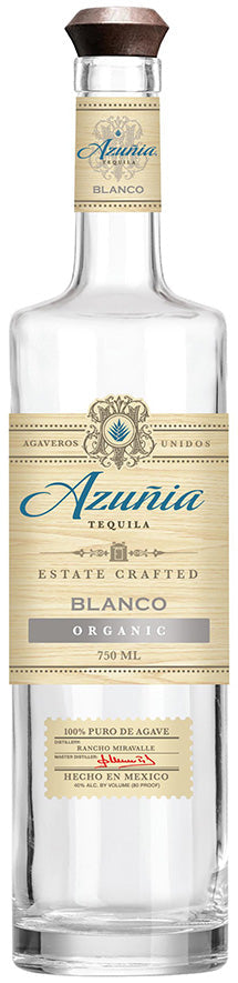 Azunia Blanco Tequila 750ml