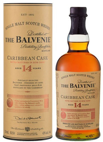 Balvenie Caribbean Cask 14yr Single Malt 750ml