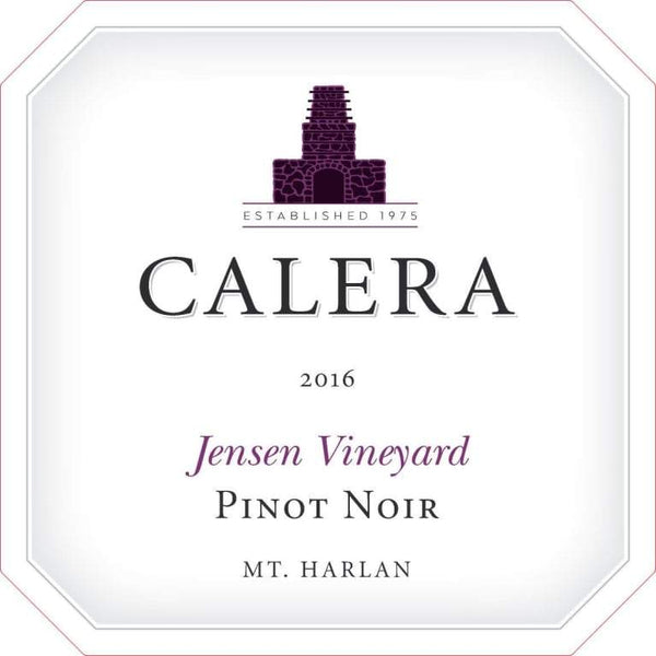 Calera Jensen Vineyard Pinot Noir 2016 750ml