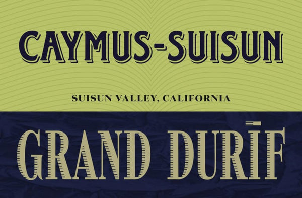 Caymus - Suisun Grand Durif Red 2018 750ml