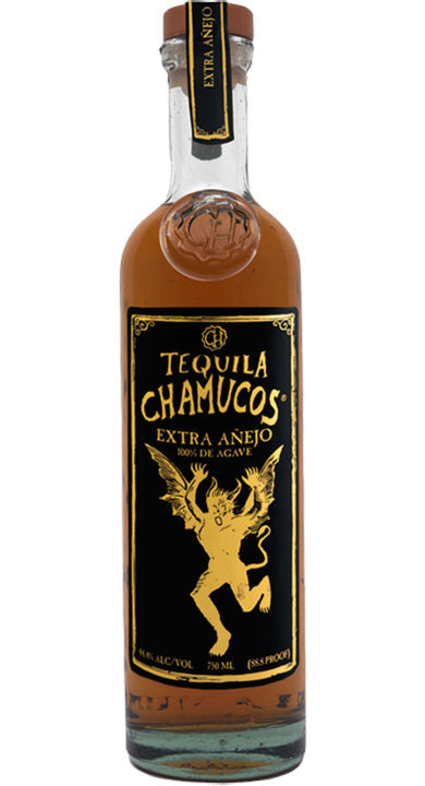 Chamucos Extra Anejo Tequila 750ml
