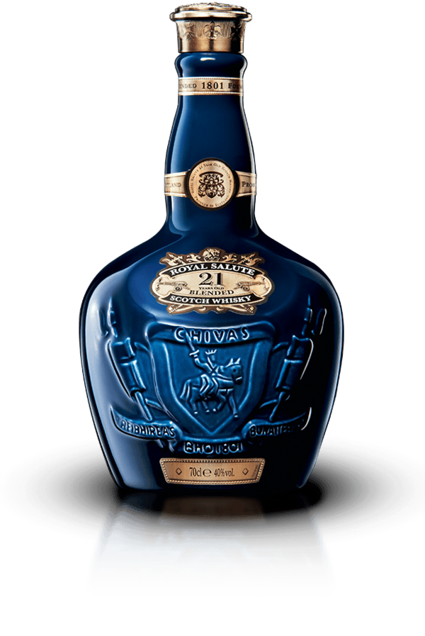 Chivas Royal Salute 21 Year Blended Scotch Whiskey 750 ML