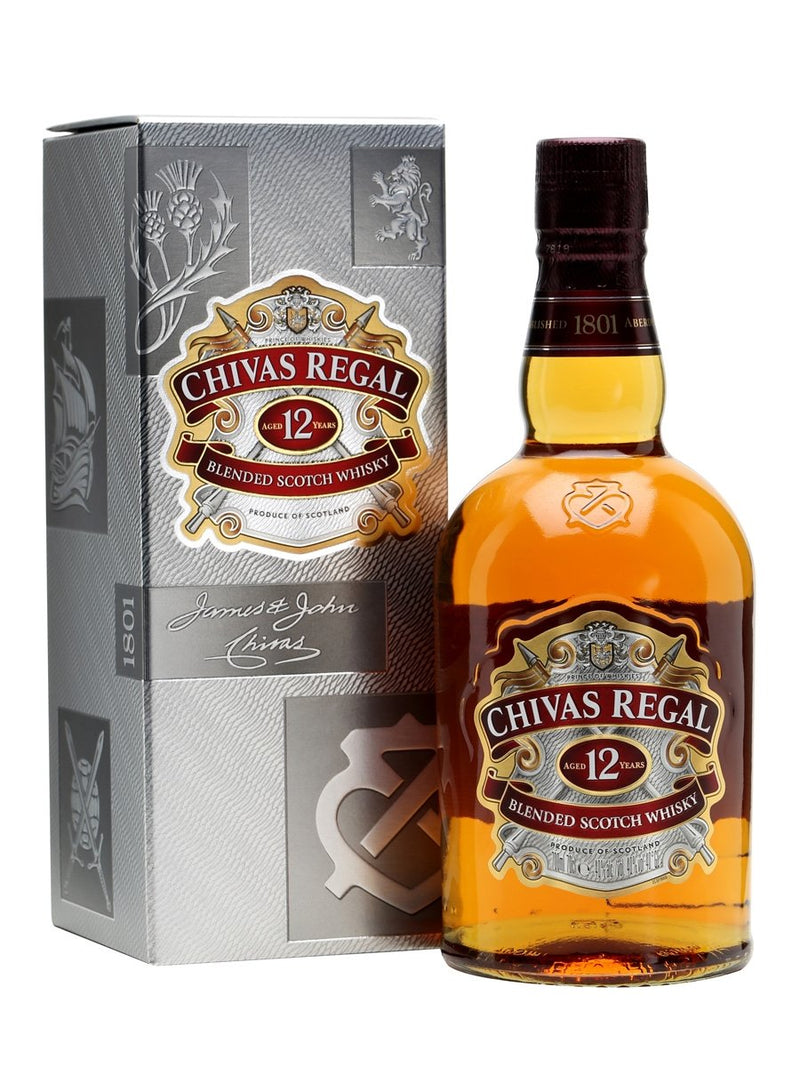 Chivas Regal 12 year Blended Scotch Whisky 750ml