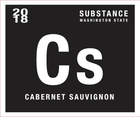 Wines of Substance Cabernet Sauvignon 2018 750ml