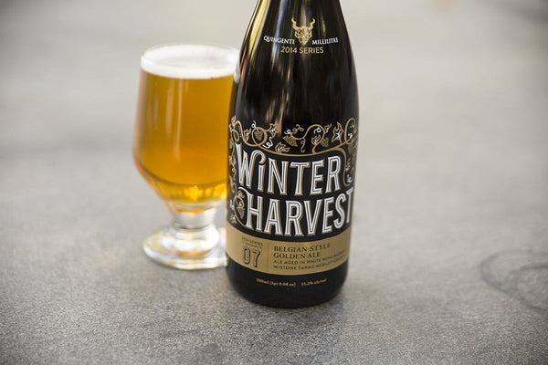 Stone Brewing Winter Harvest 2014 Belgian Golden Ale 500ml Bottle