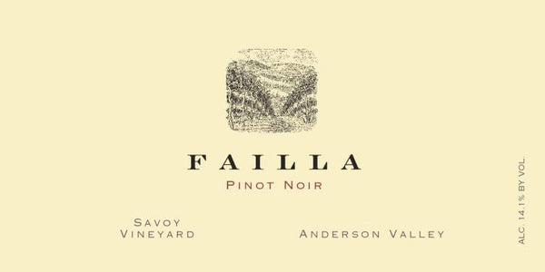Failla Savoy Vineyard Anderson Valley Pinot Noir 2018 750ml