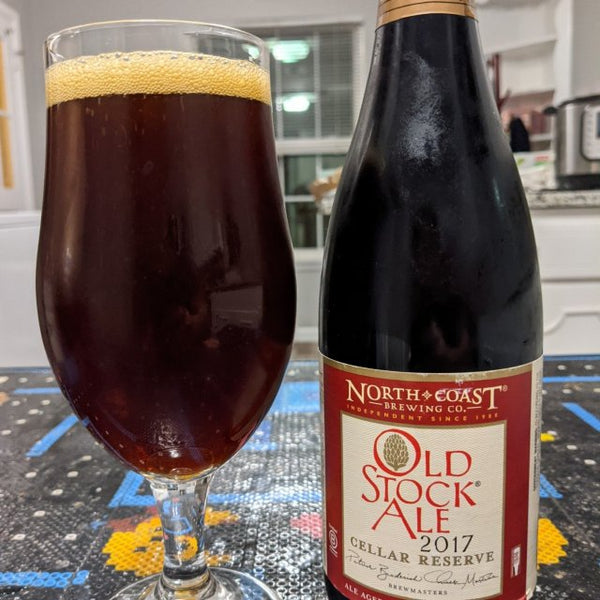 North Coast Old Stock Cellar Reserve 2017 Bourbon Barrel Aged 500ml