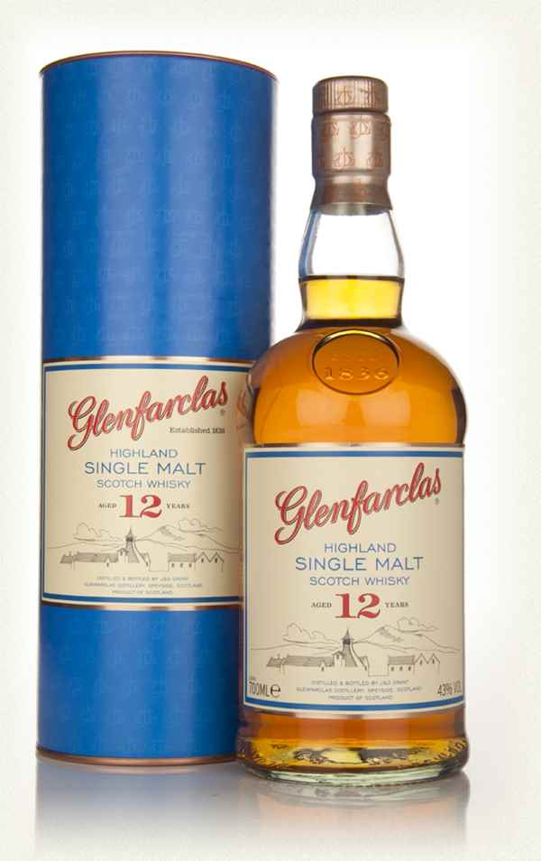 Glenfarclas 12 year Highland Single Malt Scotch 750 ml