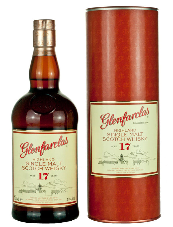 Glenfarclas 17 year Highland Single Malt Scotch 750 ml
