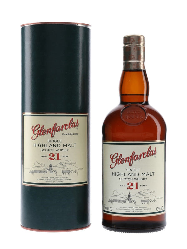 Glenfarclas 21 year Highland Single Malt Scotch 750 ml