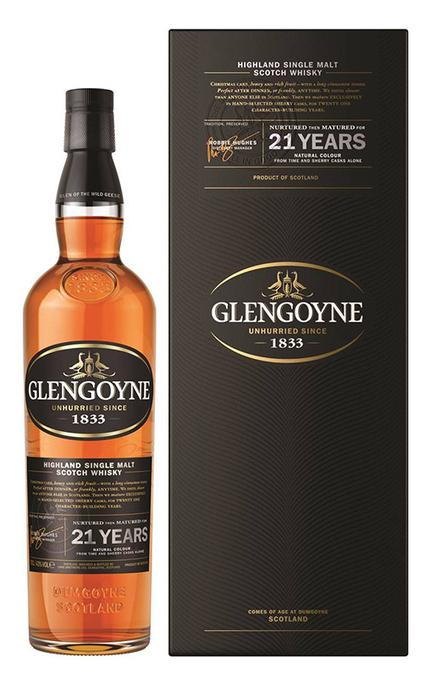 Glengoyne 21 Years Single Malt Scotch Whisky 750ml