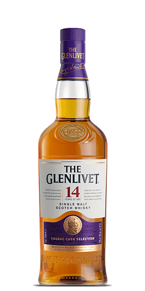 The Glenlivet 14-year Single Malt Whisky Cognac Cask Selection 750ml