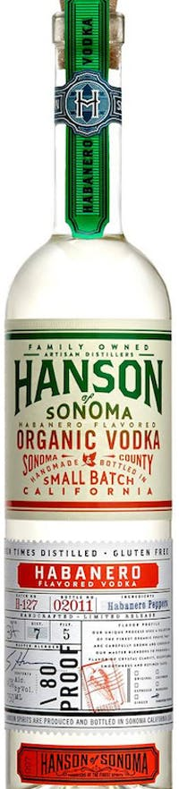 Hanson Organic Vodka Habanero 750 ml