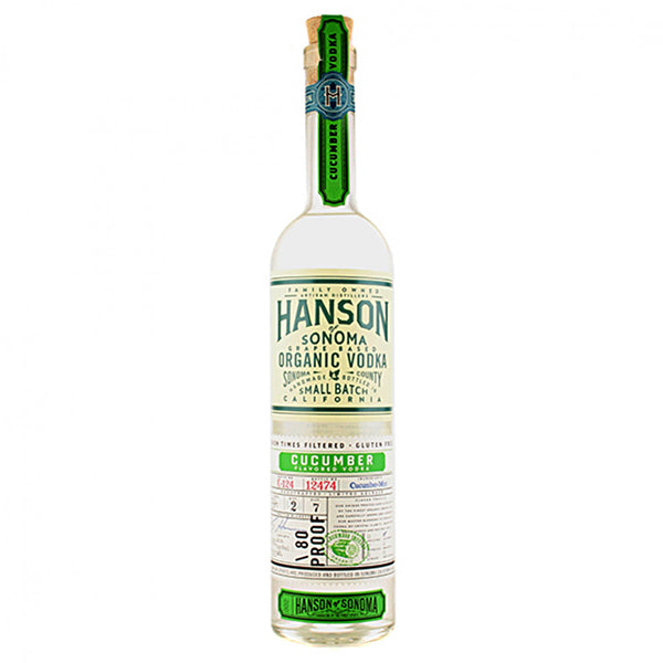 Hanson Organic Vodka Cucumber 750 ml