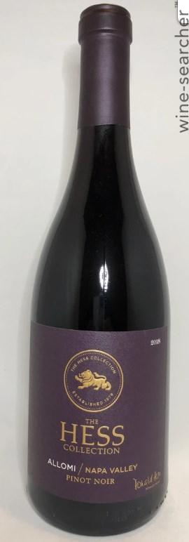 Hess Allomi Pinot Noir 2018 750 ML