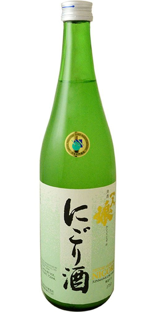 Hitorimusume Nigori Unfiltered Sake 720ml