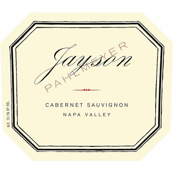 Jayson by Pahlmeyer Cabernet Sauvignon 2017 750ml