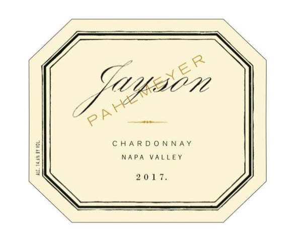 Jayson by Pahlmeyer Chardonnay 2017 750ml