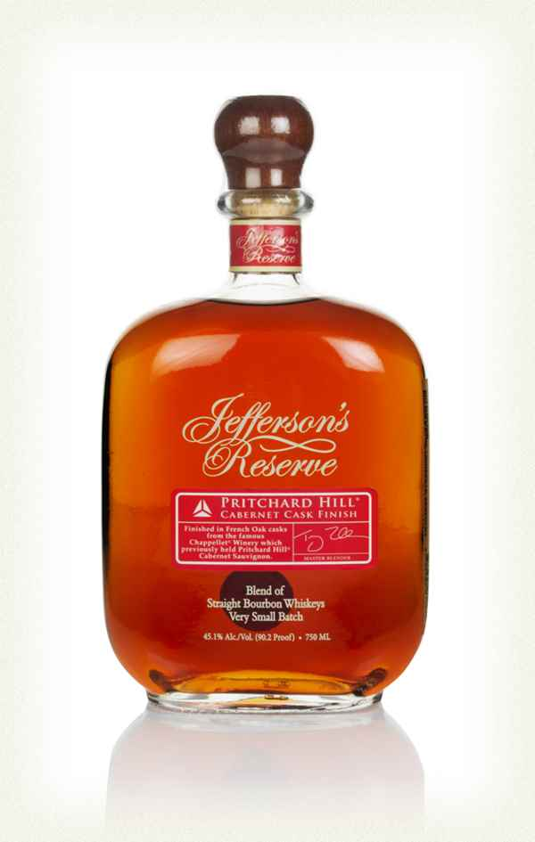 Jefferson's Reserve Pritchard Hill Bourbon Whiskey 750ml