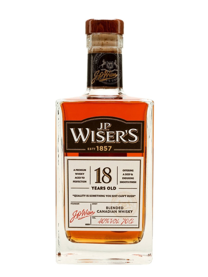 J.P. Wiser's 18 Years Blended Canadian Whisky 750ml