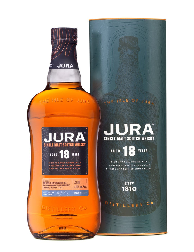 The Isle of Jura 18 Year Single Malt Scotch Whisky 750ml