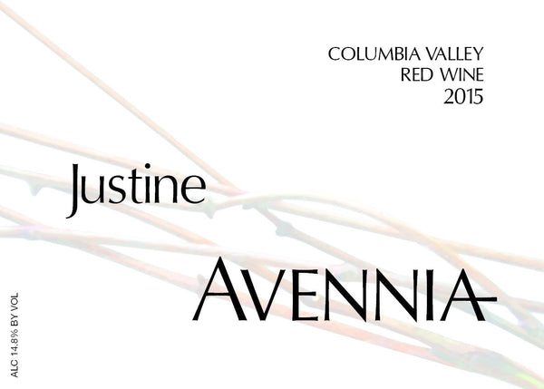 Avennia Justine Columbia Valley Red 2015 750 ml