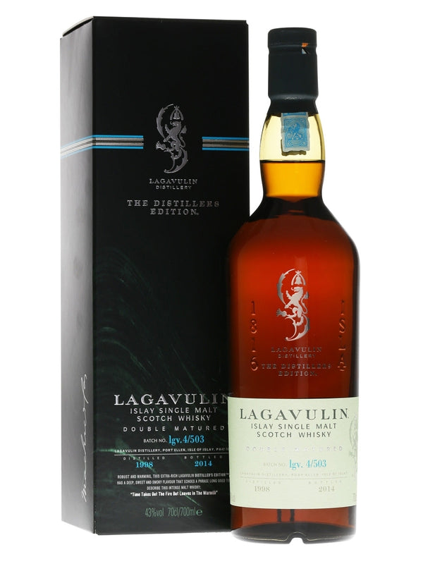 Lagavulin Distillers Edition Single Malt Scotch Whisky 750ml