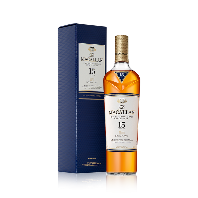 Macallan Double Cask 15 Years Old 750 ML