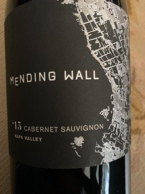 Mending Wall Cabernet Sauvignon 2015 750 ML