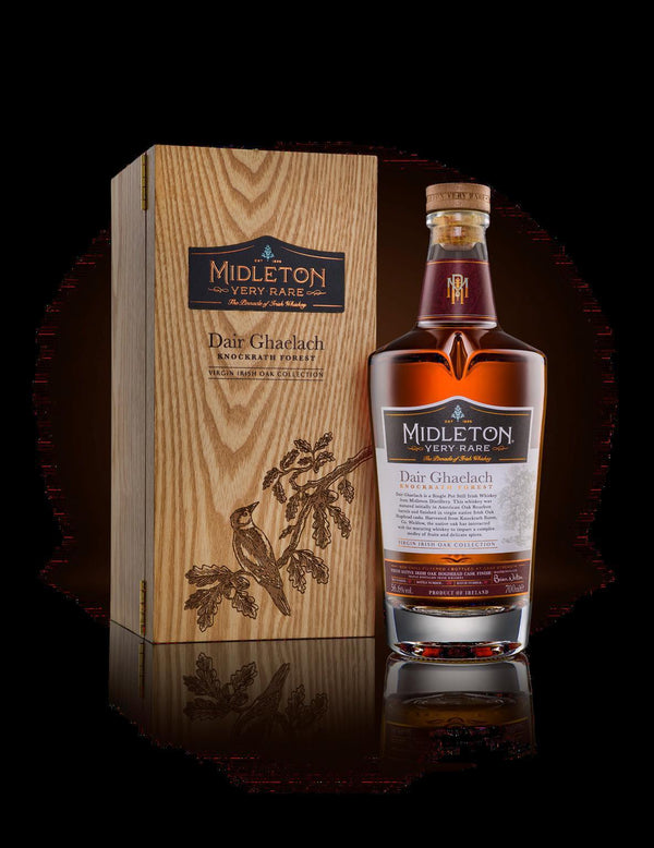 Midleton Dair Ghaelach Knockrath Forest Tree No 4 Virgin Irish Oak Finished Single Pot Still Irish Whiskey Proof 750 ML