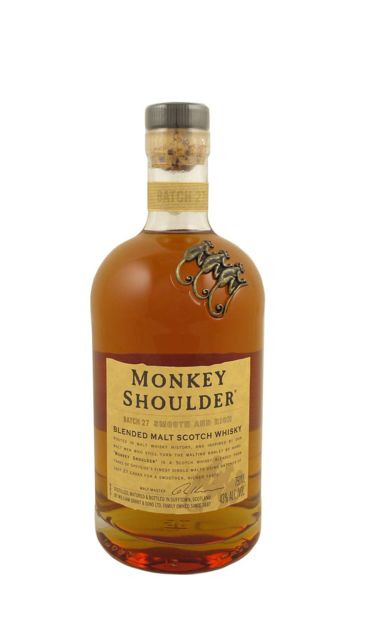 Monkey Shoulder Blended Malt 750 ml