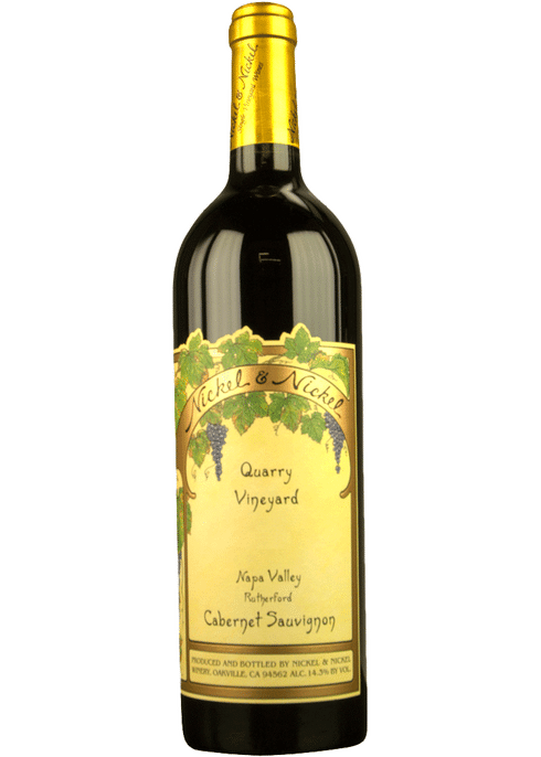 Nickel & Nickel Quarry Vineyard Cabernet Sauvignon 2017 750ml